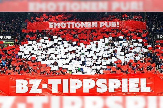 BZ-Tippspiel: Wie spielt der SC Freiburg gegen den 1. FC Nürnberg?