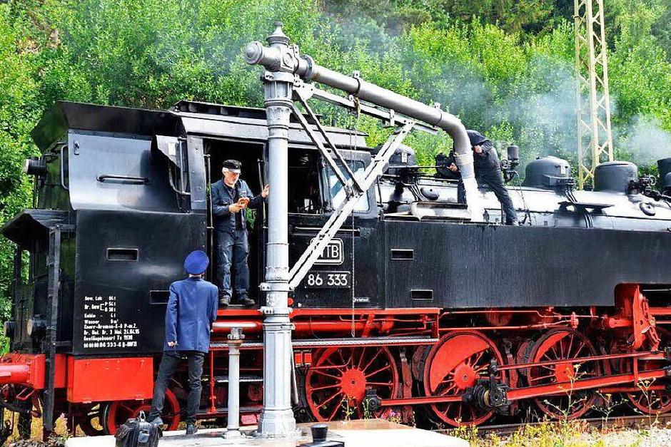 Historische Dampflokfahrten der IG- 3Seenbahn starten wieder. (Foto: Philippe Thines)