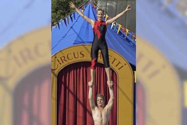 Zirkus Paletti in der Römerhalle in Riegel