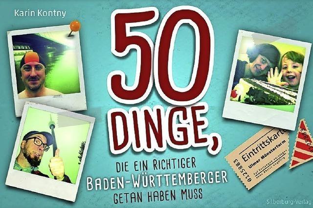 REGIO-FÜHRER: 50 Dinge müssen es sein