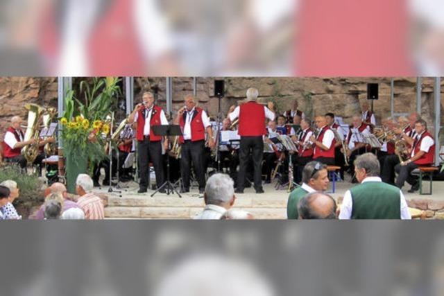 Freude an der traditionellen Blasmusik