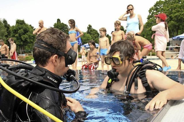 Schwimmen, Shoppen und jede Menge Spaß im Freibad