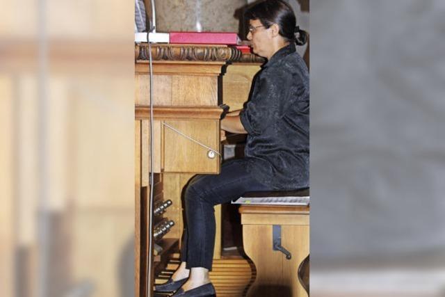 Mächtige Orgeltöne
