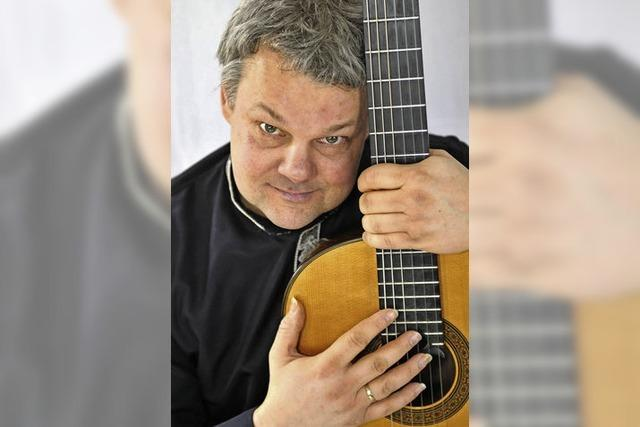 Roger Tristao Adao in der evangelischen Stadtkirche Bad Säckingen