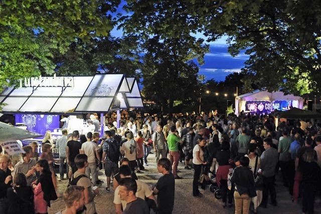 Fünf Tage Schlossbergfest in Freiburg