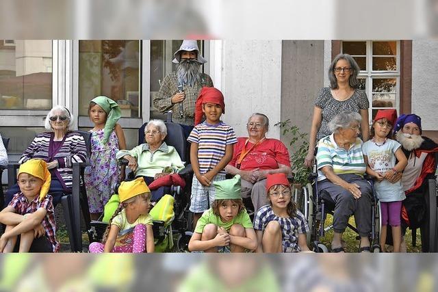 Besuch bei Senioren