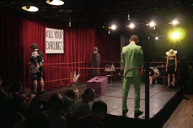 Die Theatergruppe Maniacts spielt
