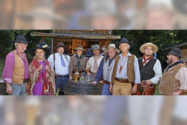 Cowboy-Leben wie im Wilden Westen