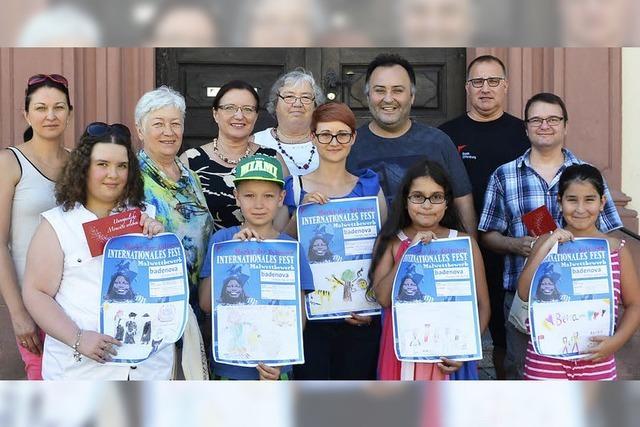 Fünf Kinder wünschen sich Frieden der Nationen
