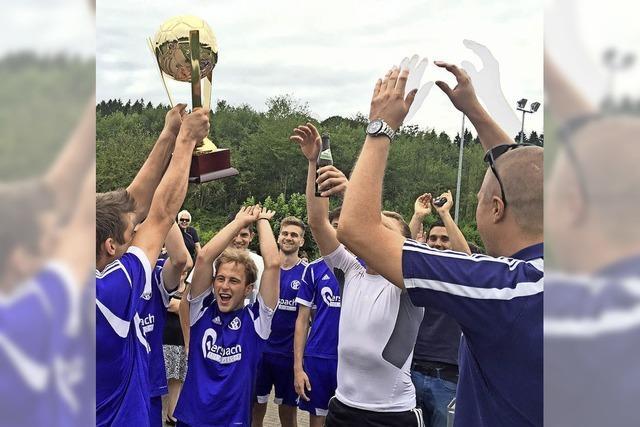 Der Stadtpokal wandert von Rotzel nach Binzgen