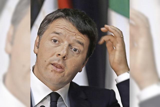 In Italien wird der Schuldenberg immer höher
