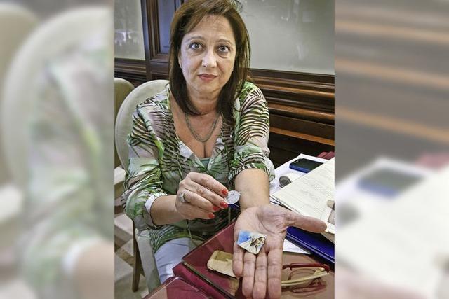 Anna Arecchia suchte im katholischen Italien lange ihre Eltern