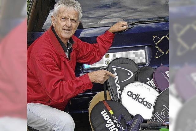 MENSCHEN: Tennis-Rebell mit Stehvermögen