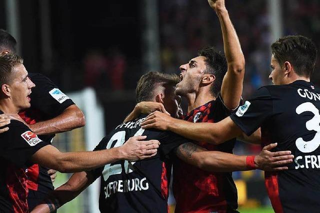 SC Freiburg spielt gegen Nürnberg 6:3 – Tabellenspitze