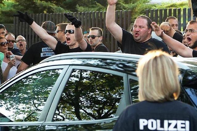 Der Hass auf Fremde wird in Sachsen radikaler