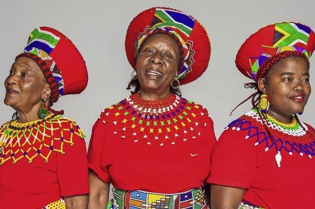 Die Mahotella Queens und andere beim African Music Festival