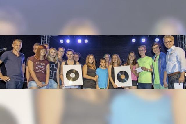 Die Band Temmsdayl aus Gengenbach überzeugt die Jury
