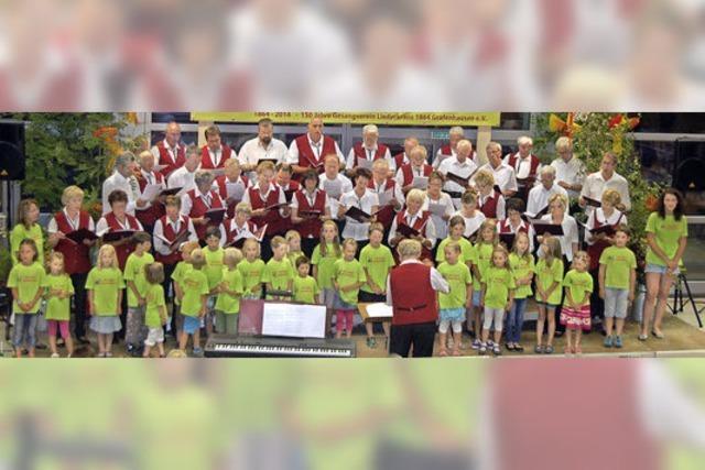 Mitmachkonzert mit dem Liederkranz Grafenhausen