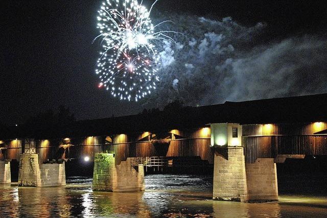 Stein im Fricktal feiert den 1. August mit großem Feuerwerk