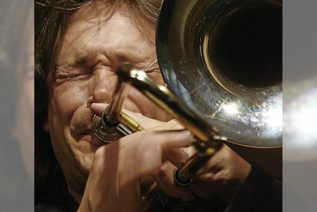 Harry De Ville und seine Real Bluesband im Bruetschi Hof