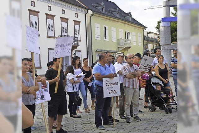 Protest gegen IS-Terror