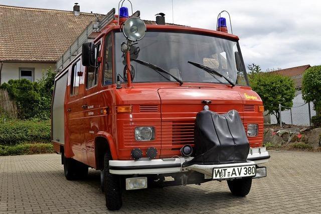 Wallbach erhält ein neues Feuerwehrauto
