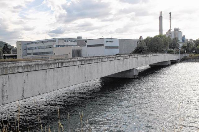 Brücke über den Rhein wird gesperrt