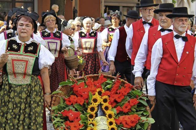 Wein- und Gaumenfreuden beim Markgräfler Weinfest