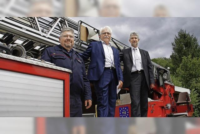 Feuerwehr bekommt neue Drehleiter