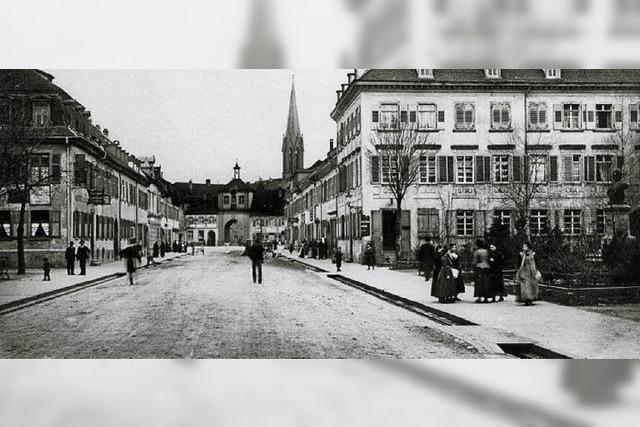 Der Pracht-Boulevard des Markgrafen