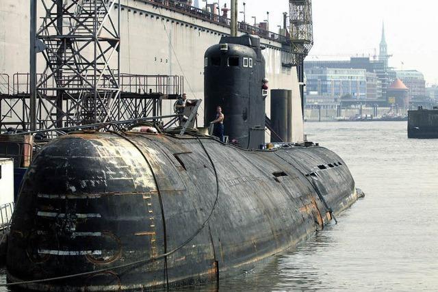 U-Boot-Wrack vor Stockholm stammt aus dem Jahr 1915