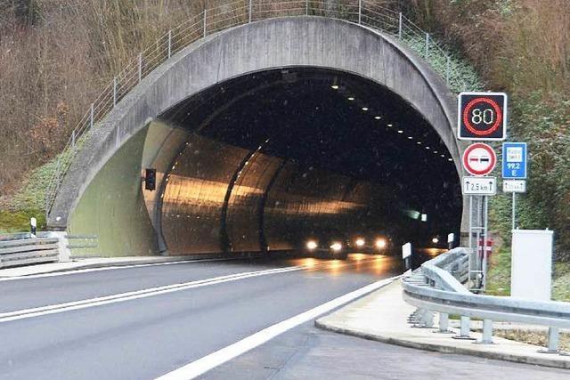 Gute Noten für den Hugenwaldtunnel bei Waldkirch