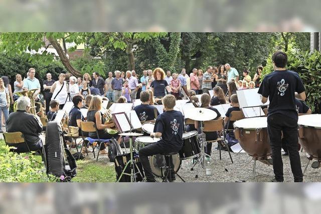 Der Musikverein Buchholz lädt zum Open-Air
