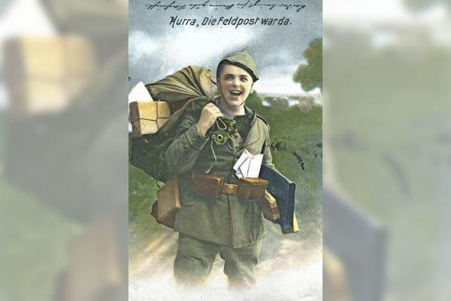 Der Krieg auf Ansichtskarten