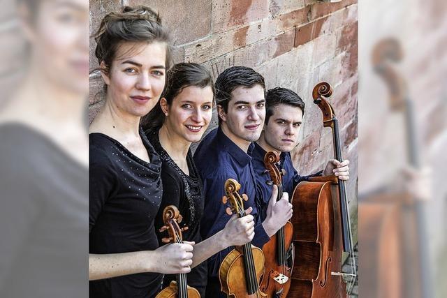 Das Aris Quartett bei der Musikwoche Staufen