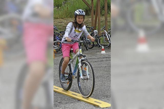 Fahrradturnier: Mit Sicherheit ans Ziel
