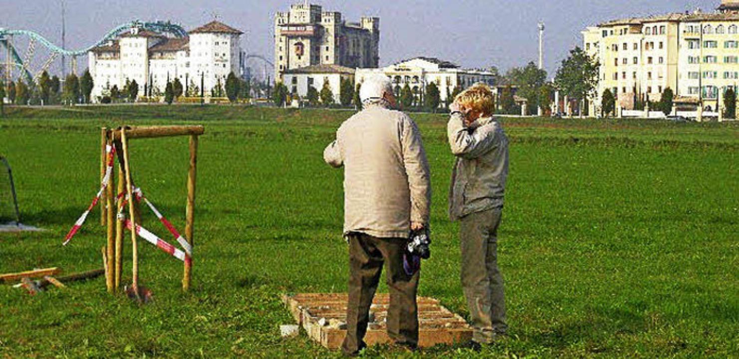 Südlich der Europa-Park-Hotels soll an... dritte Tiefbrunnen geschlagen werden.    Foto: Stadt Ettenheim