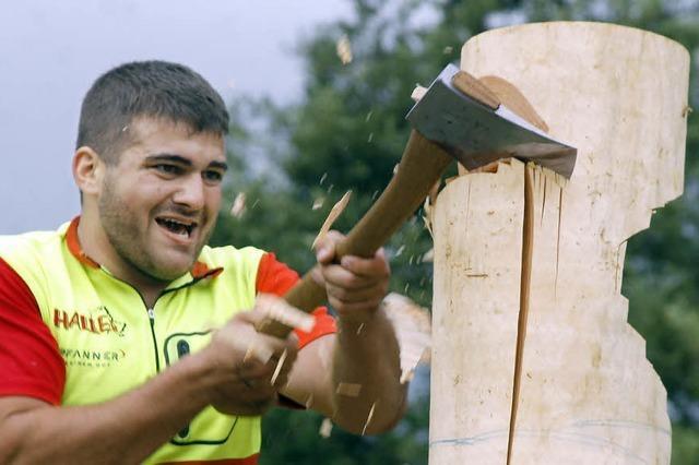 Holzfällermeisterschaften in Schuttertal