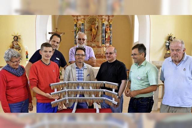 Tüfteln und Denken für die neue Orgel