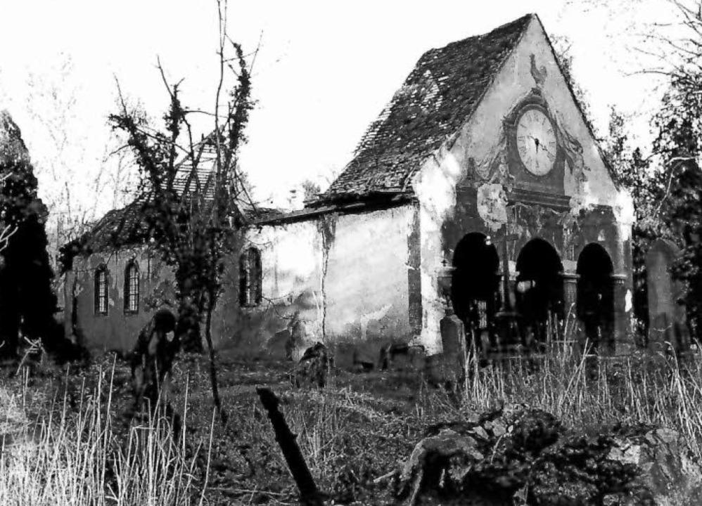 Beim Bombenangriff auf Freiburg im Nov...de sie umfassend wieder hergerichtet.   | Foto: Archiv Hans Sigmund