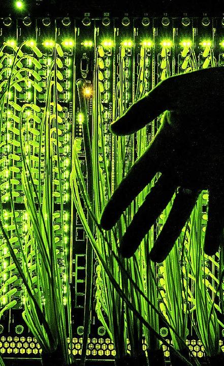 Mit Hilfe eines Backbone-Netzes soll s...ernet im Kreis sichergestellt werden.   | Foto: dpa
