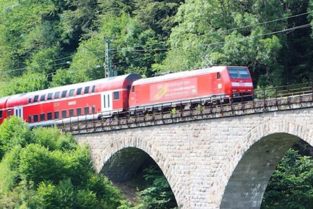 Keine Züge im Höllental – Bauarbeiten beginnen