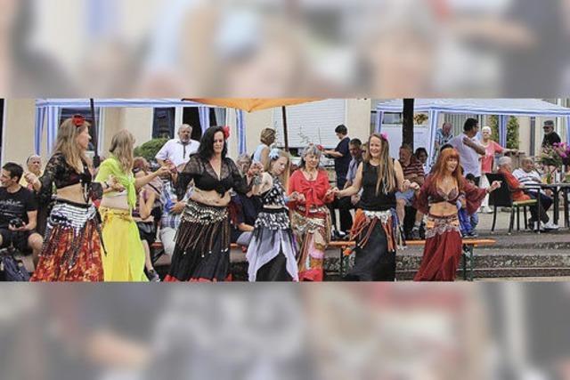 Sommerfest beim Pflegestift Pro Curand