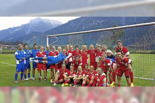 Saisonvorbereitung der SC-Frauen in Elbigenalp