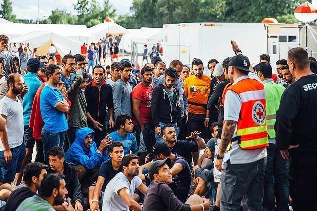 Brennbare Flüssigkeit in Asylunterkunft in Balingen entdeckt