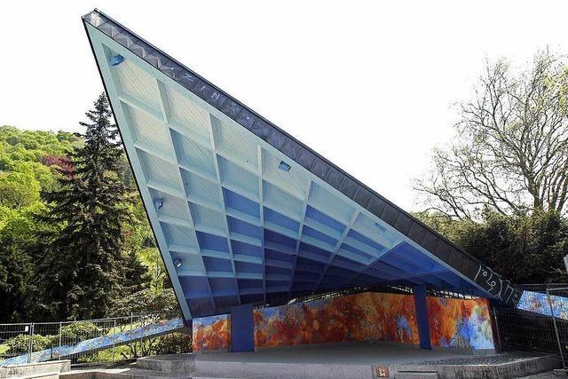 Freiburgs Musikpavillon ab sofort gesperrt