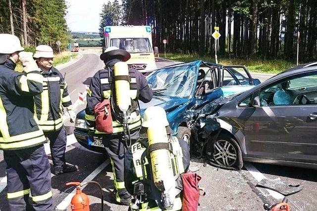Unfall auf der Bundesstraße bei Rötenbach – B 31 wieder frei