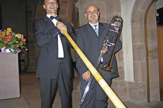 Posaunen- und Alphornmusik in der Kirche St. Cyriak