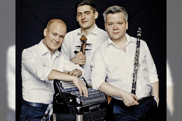 Das Trio Neuklang tritt bei den Laufenburger Kulturtagen auf