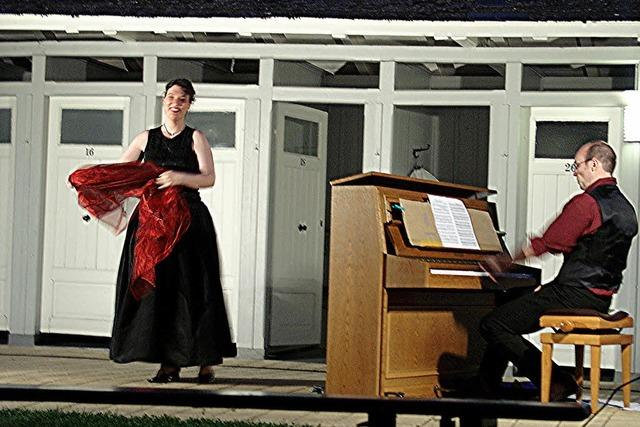 Im Damenbad gibt's am Samstag Lieder von Wagner und Liszt